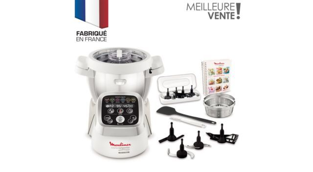 moulinex companion hf800a10 robot multifonction  cuiseur