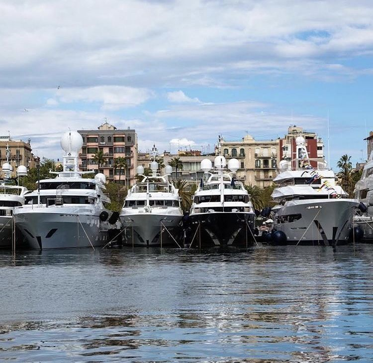 A Fine Line Up Of 20 Of The Most Expensive Cas At The Superyacht