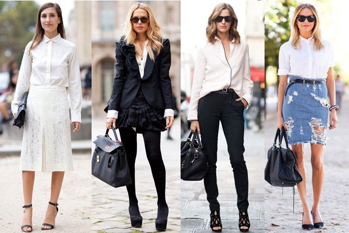 Fashion White Shirt | Is Shirt