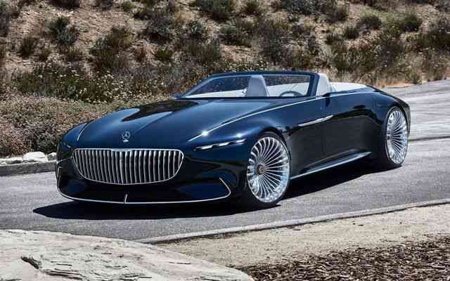 Mercedes Benz Vision Maybach 6 Cabriolet Concept 2020 Phenomenal