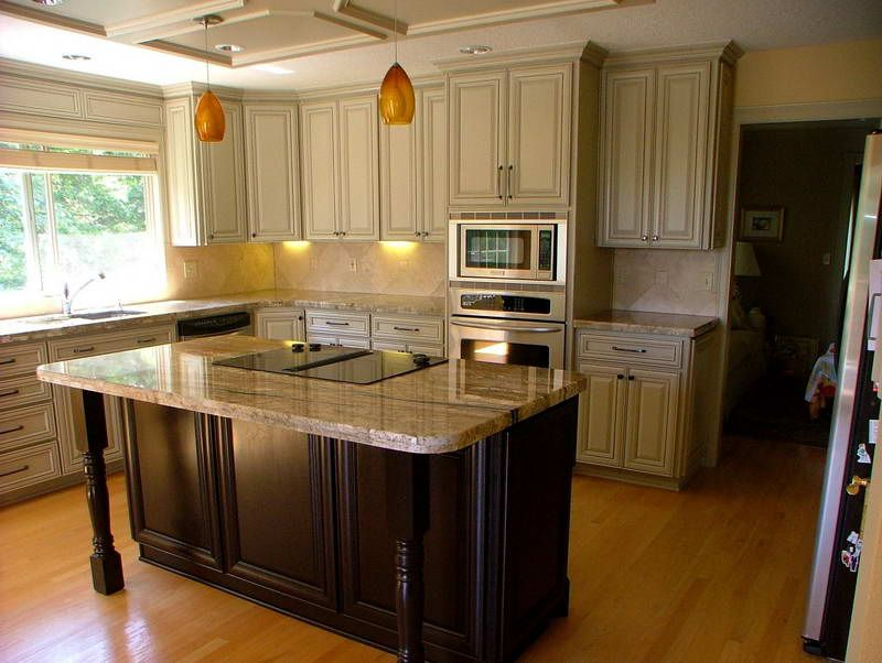 oak kitchen cabinet makeover ideas - Oak Kitchen Cabinet Makeover