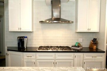 Frosted White Glass Subway Tile White Glass Tile Kitchen Black