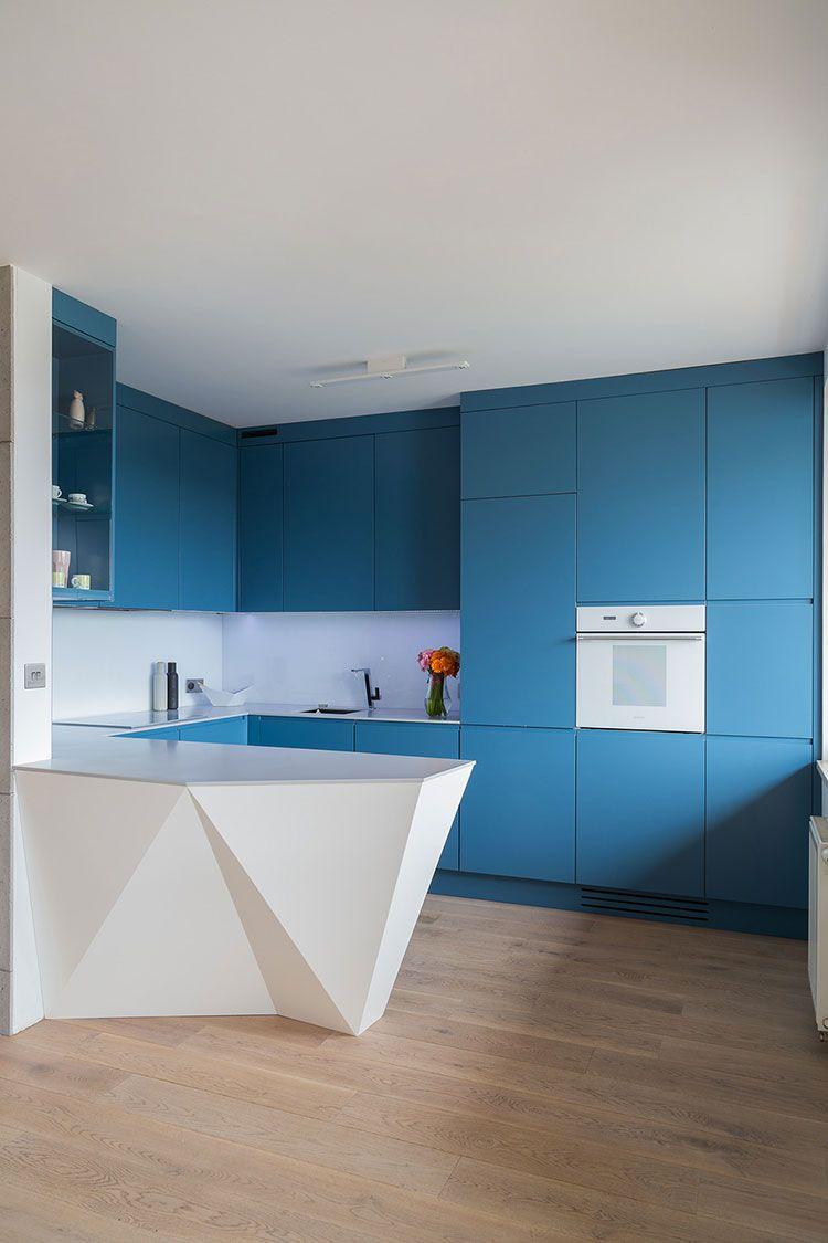 Cucina Blu Moderna.Cucina Blu 25 Idee Di Arredo In Stile Moderno E Classico