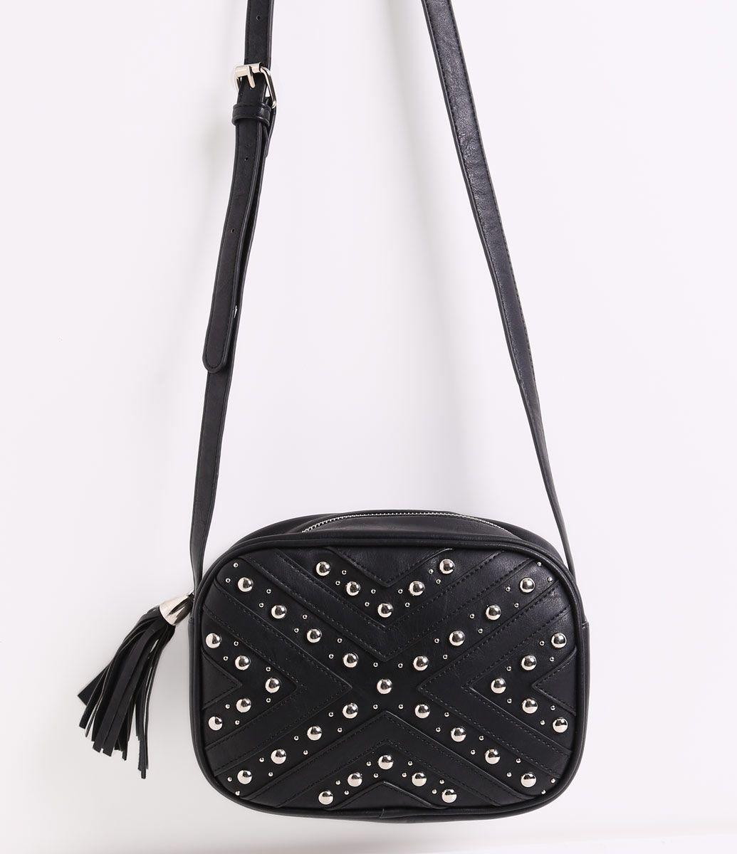 c6dbcc598 Bolsa Feminina Transversal com Rebites - Lojas Renner | Bags I like ...