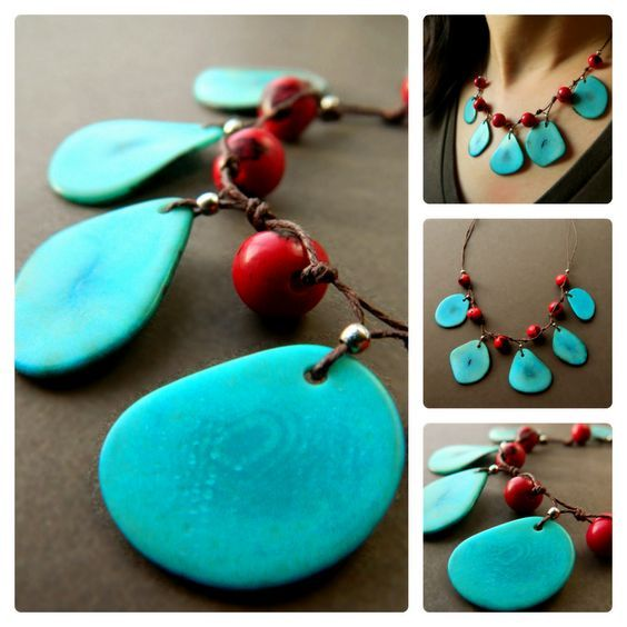 Image result for Tagua Jewelry