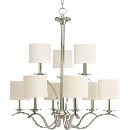 progress lighting p4638 09 inspire collection 9 light chandelier rh pinterest com
