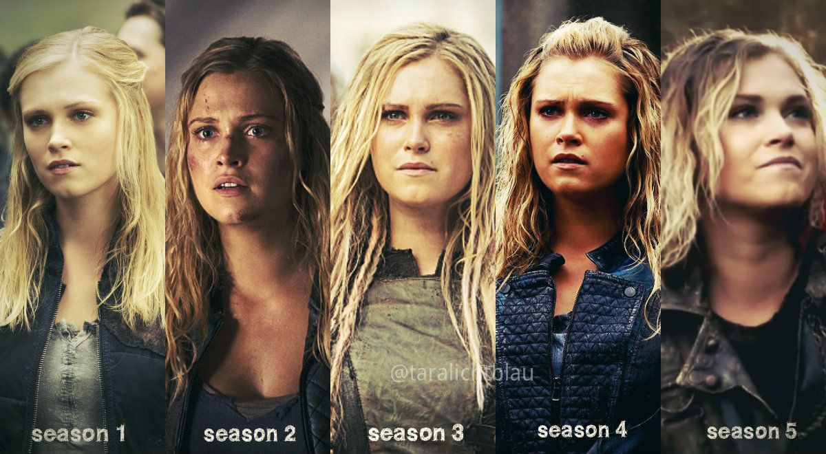 Clarke Griffin The 100 I need to watch season 4 The
