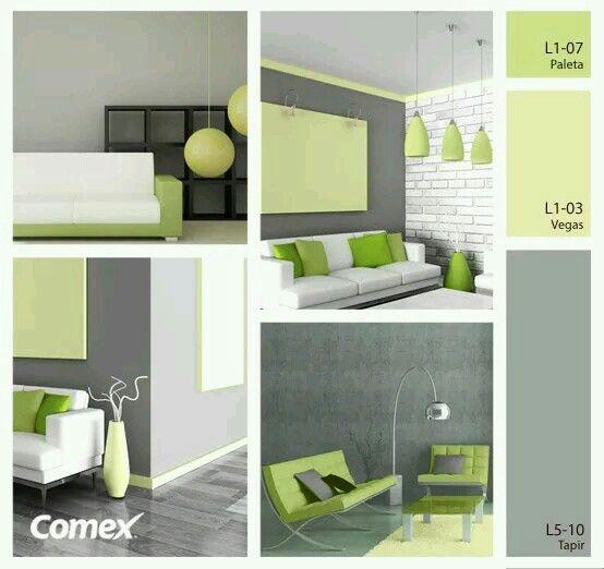 Pin de angie melanie en casas pinterest verde for Decoracion de interiores verde