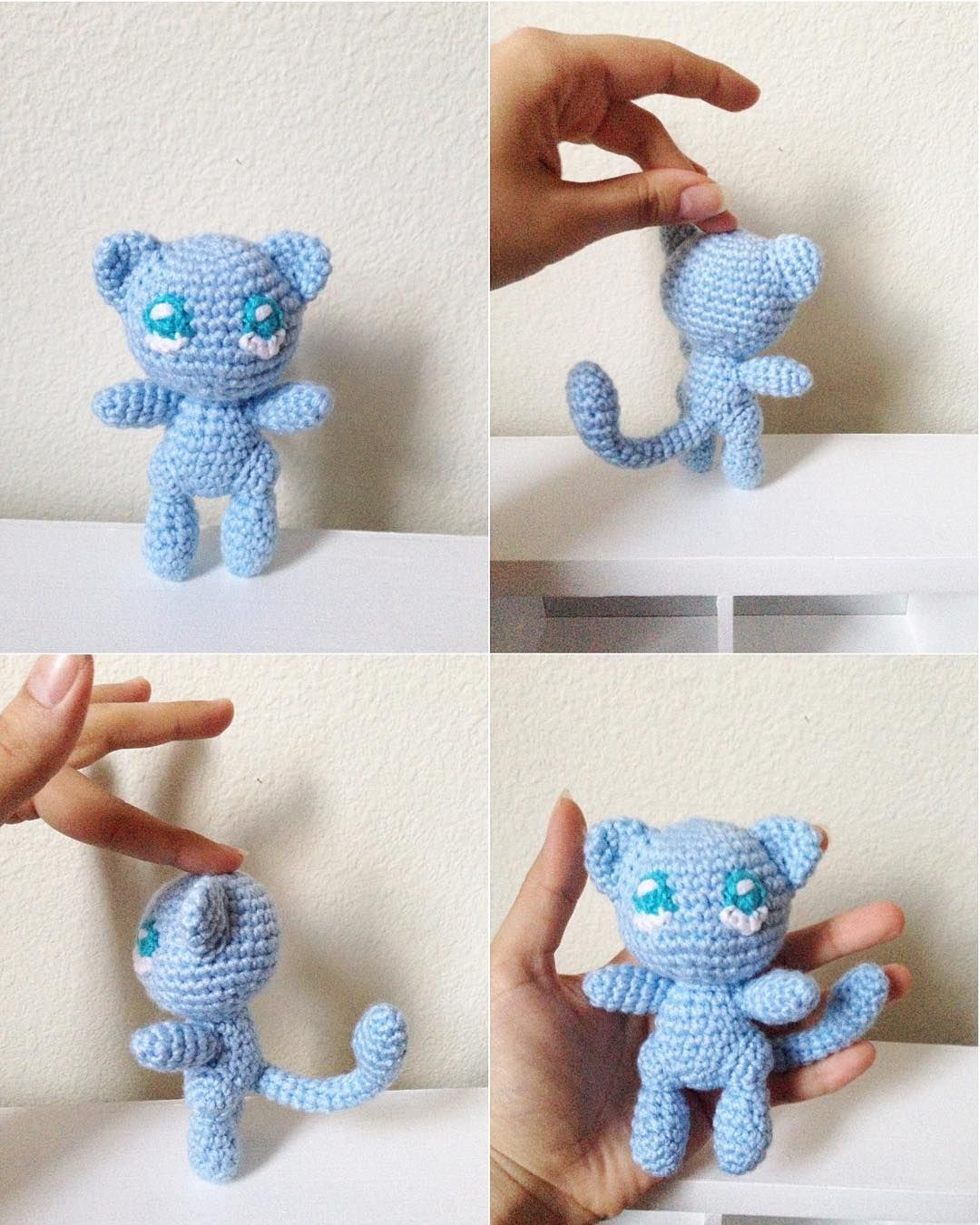 Shiny Mew is complete!! I now need to make his brother Mega X Mewtwo ...