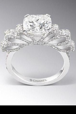 Connu Bagues de fiançailles | Bagues, Chanel et Bagues de fiançailles HK55