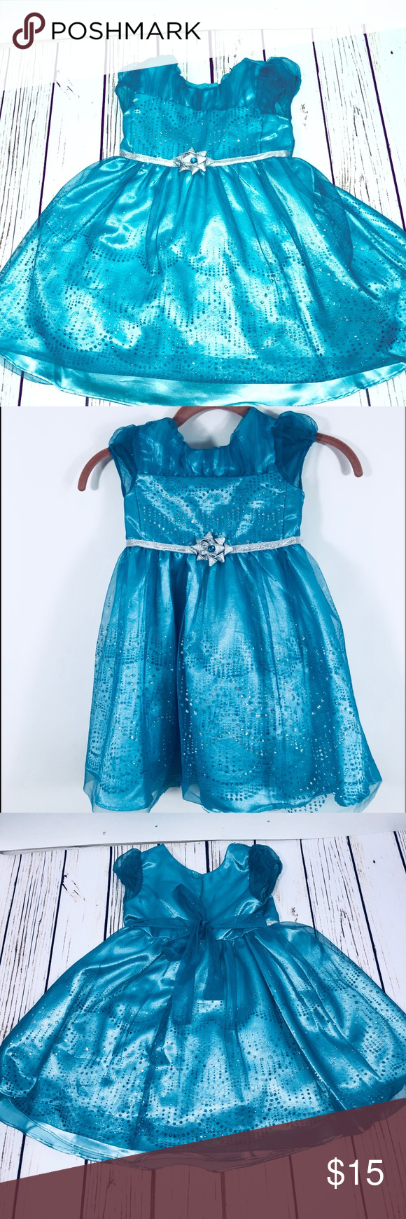 Jon S Michelle Girls Sequin Holiday Party Dress Beautiful Blue Green Party Or Holiday Dress Size 4t Silver And Blue Sequins An Fashion Clothes Design Dresses [ 1740 x 580 Pixel ]