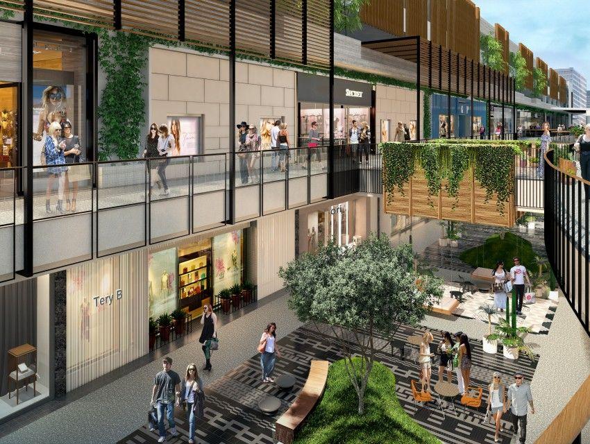 Preview The New Westfield Century City Westfield Century City Mall Design Atrium Garden