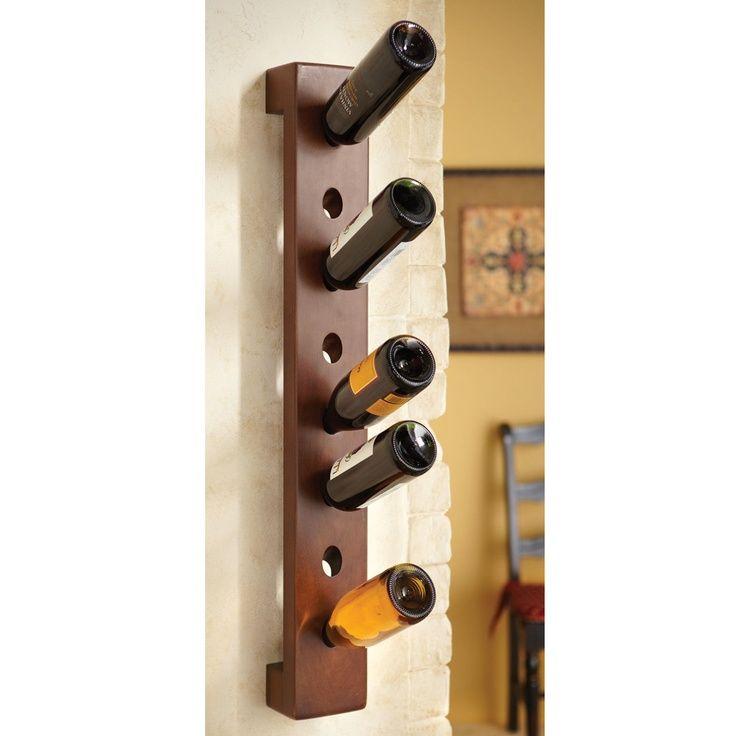 diy wine racks ideas - Google Search | Wall mounted wine ...