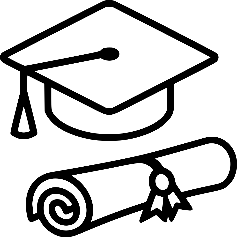 Graduation Cap Diploma Svg Png Icon Free Download 554182 Icone Instagram Instagram