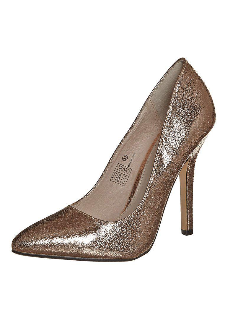 Chaussures à talon aiguille Buffalo noires femme DFBBTm