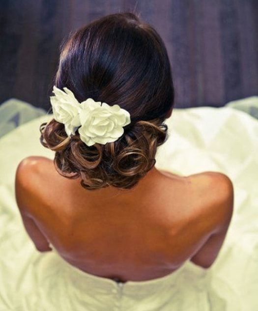 20 Gorgeous Wedding Hairstyles For Long Hair: 20 Gorgeous Black Wedding Hairstyles. Top Black Women