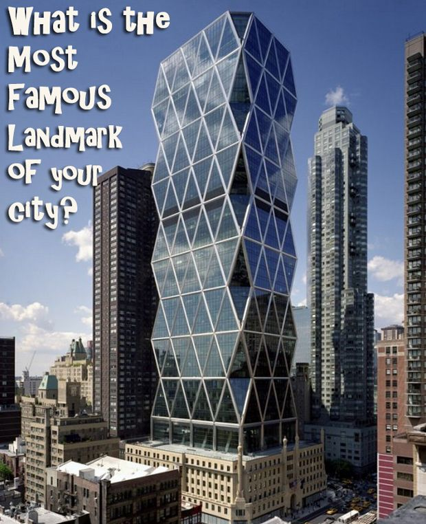 What is the most famous landmark of your city? Add your photo