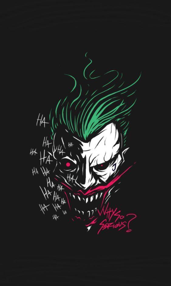Pin Oleh Andrestrim Di Onlinepins Club Batman Wallpaper Seni Gelap Lukisan Galaksi Joker gambar keren untuk wallpaper