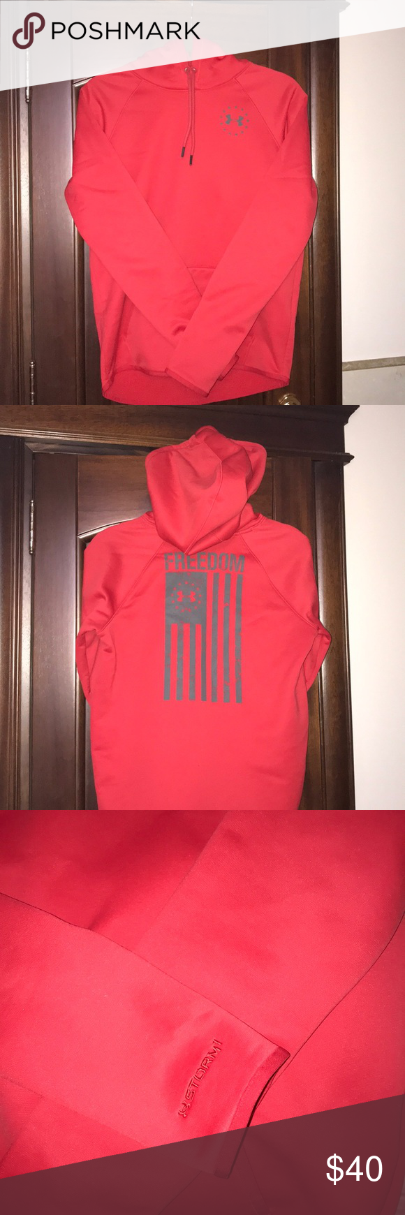 Under Armour Freedom Fleece Cold Gear Hoodie Cold Gear Clothes Design Hoodies