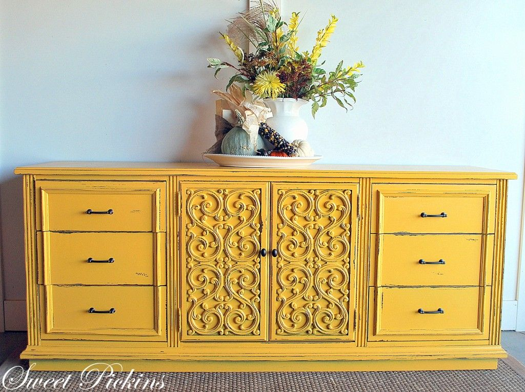 What Color To Paint Your Furniture DIY Projects Dresser - Update old bedroom furniture