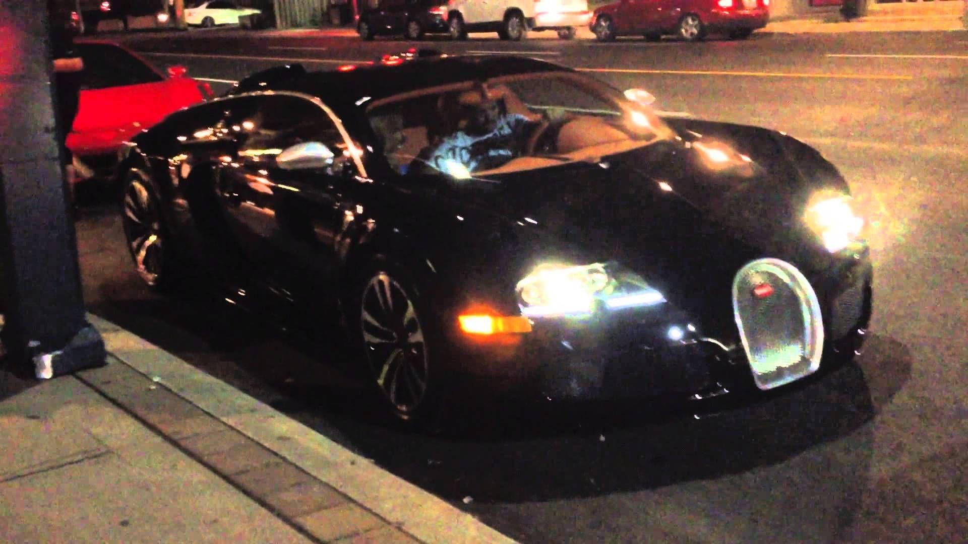Drake can't get his car (Bugatti) to start with nicki