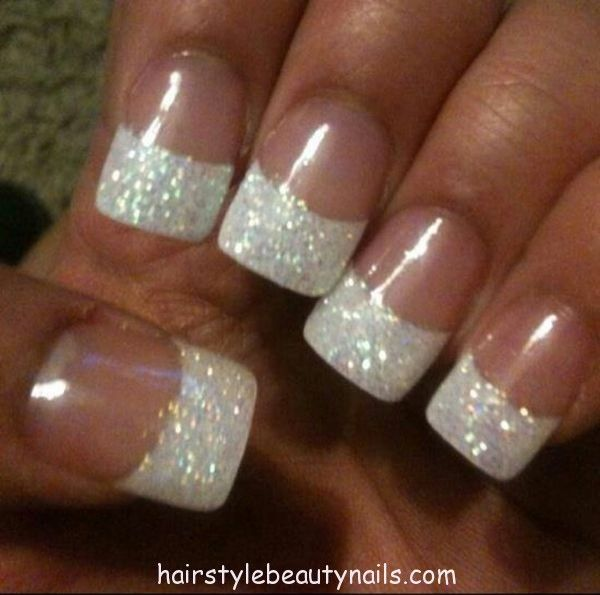 Beautiful Wedding Manicure Ideas | Best Glitter pictures and ...