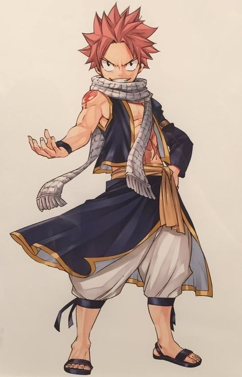 Natsu dragneel fairy tail fairy tail manga fairy tail et anime - Comment dessiner natsu ...
