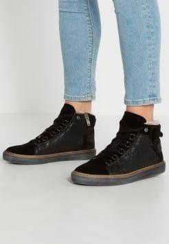 Tamaris Sneakers hoog black | Me My wish list Zwart