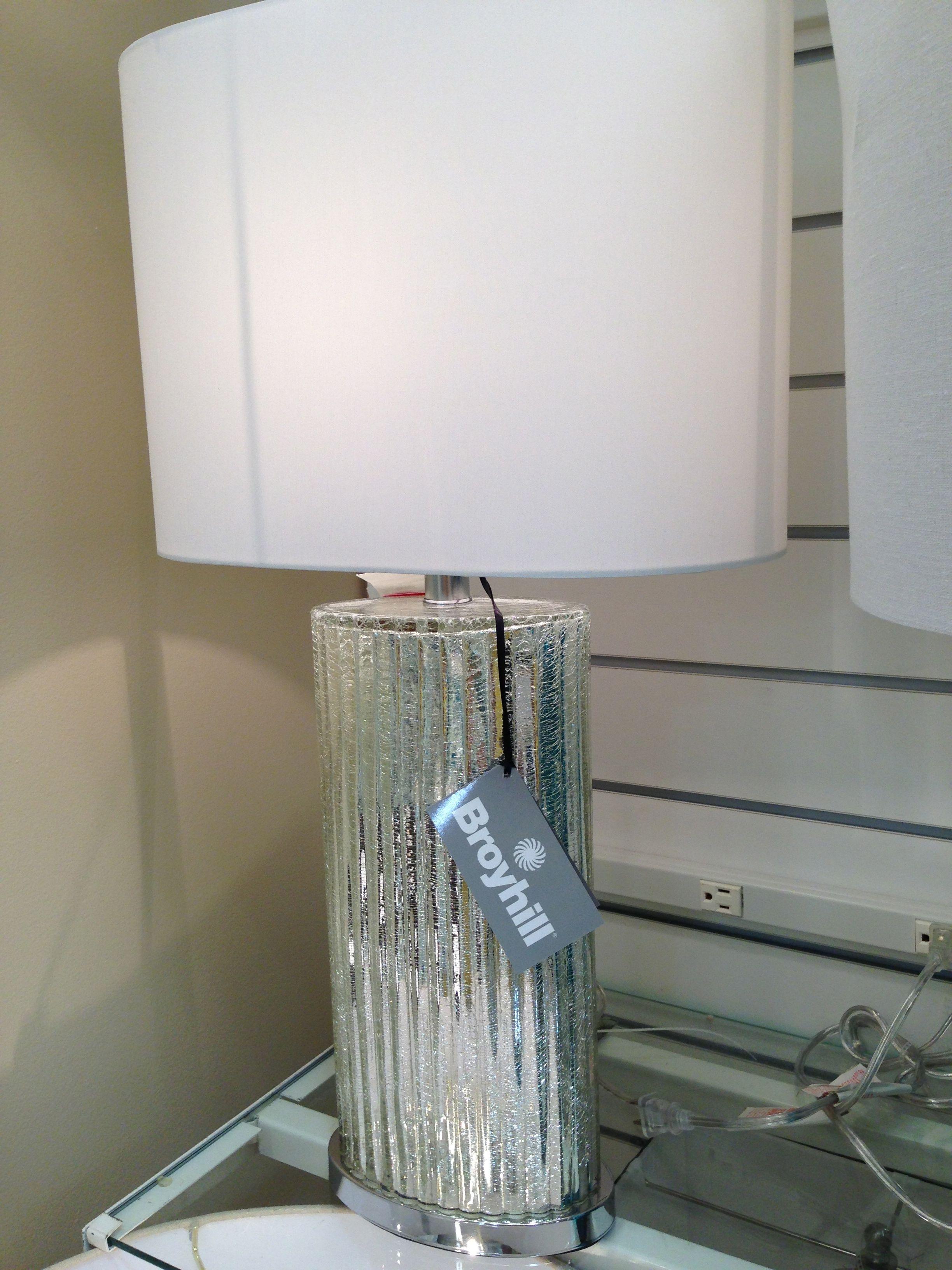 Broyhill Mercury Glass Lamp Lamp Mercury Glass Lamp Glass Lamp