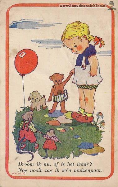 Dutch illustrator Mary Numans