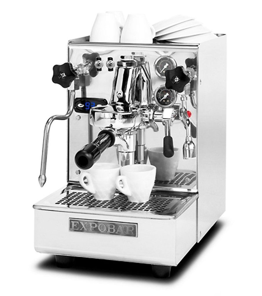 Espresso group office barista minore plumbed in coffee