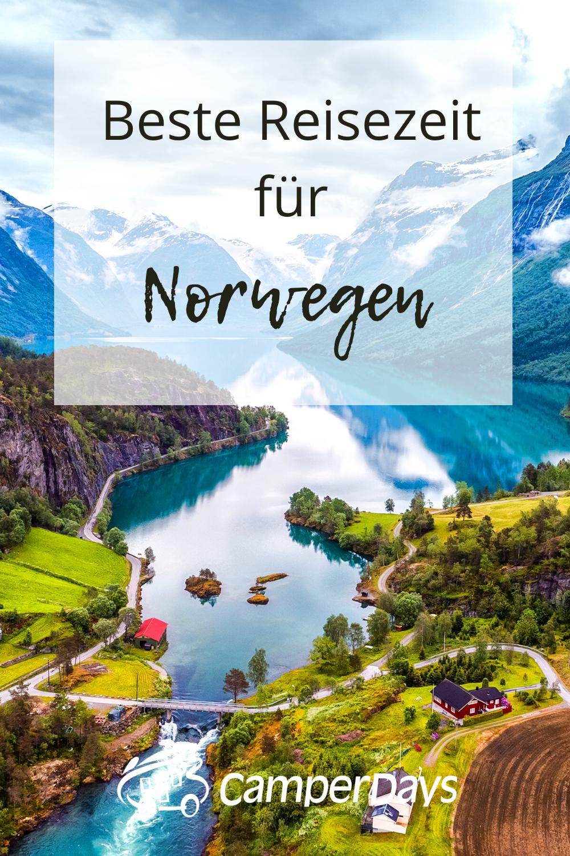 Das ist die beste Reisezeit für euren Roadtrip durch Norwegen