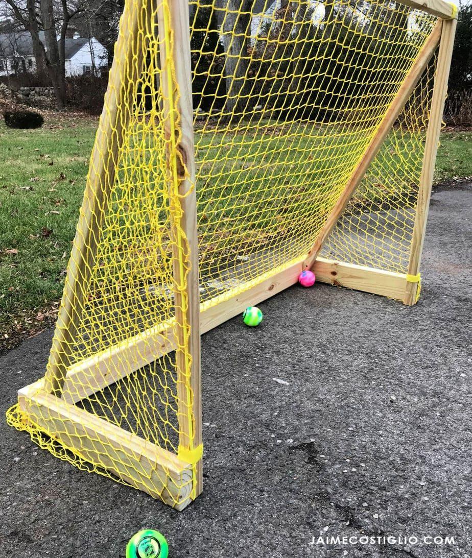 DIY Street Hockey Goal | diy | Hockey goal, Street hockey, Hockey nets