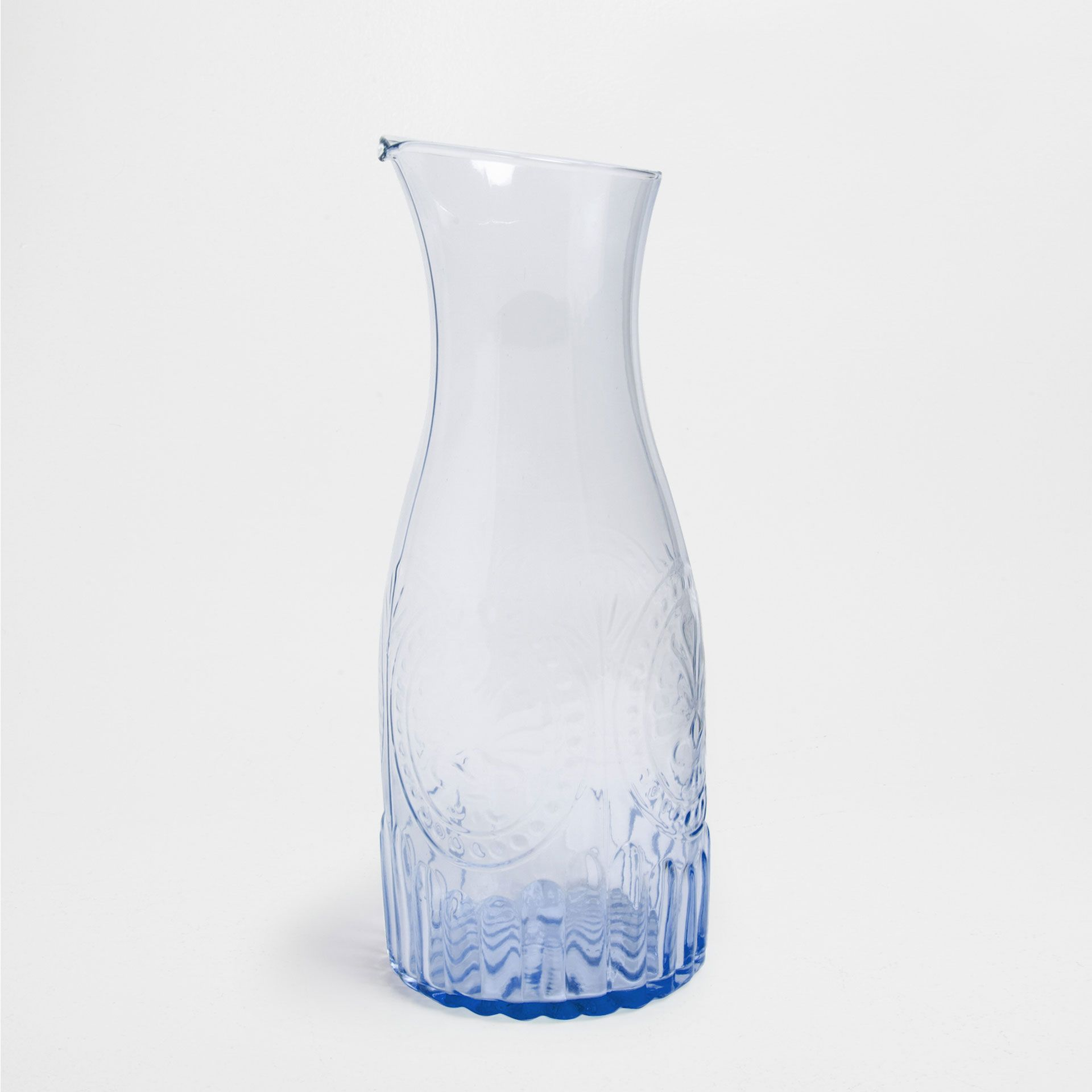 CARAFE VERRE RELIEF - Carafes - Verrerie - Table | Zara Home France