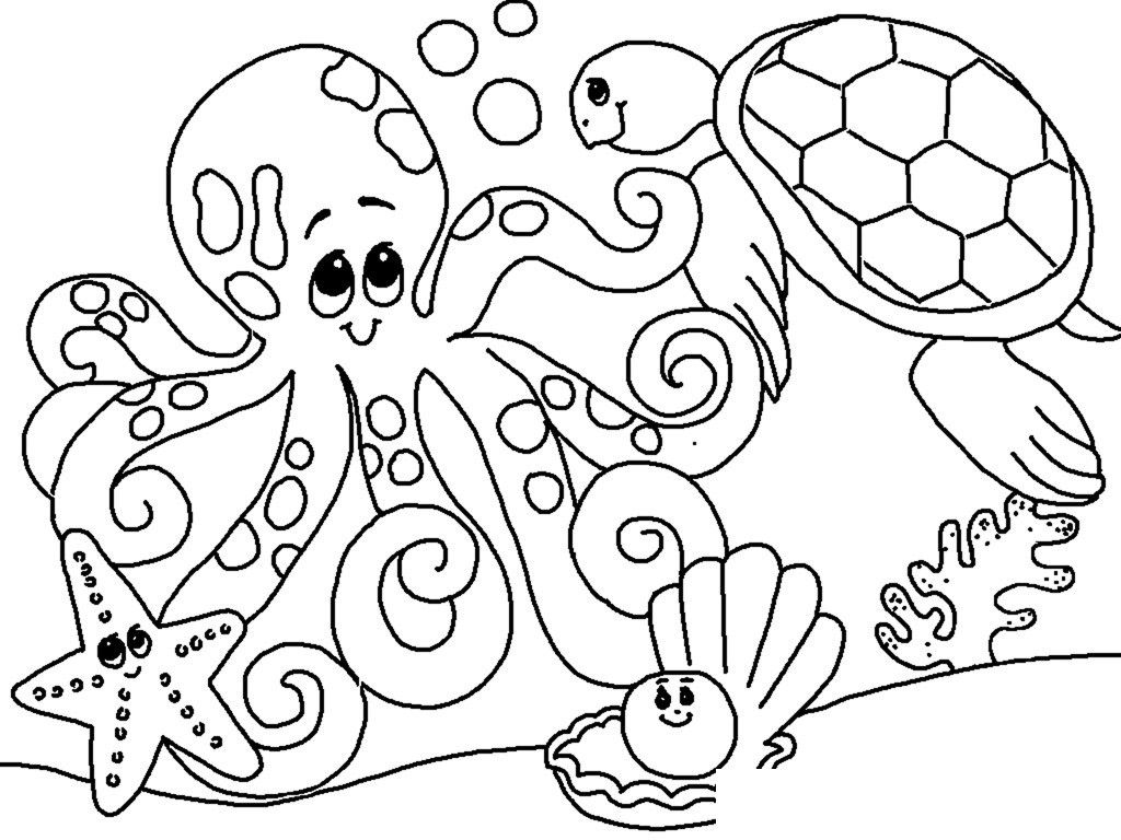 Coloring Pages Under The Sea Ocean Themed Ocean Coloring Pages Animal Coloring Pages Animal Coloring Books