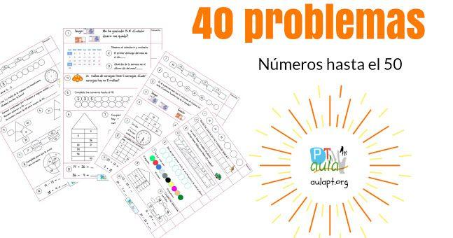 40 problemas de números hasta el 50