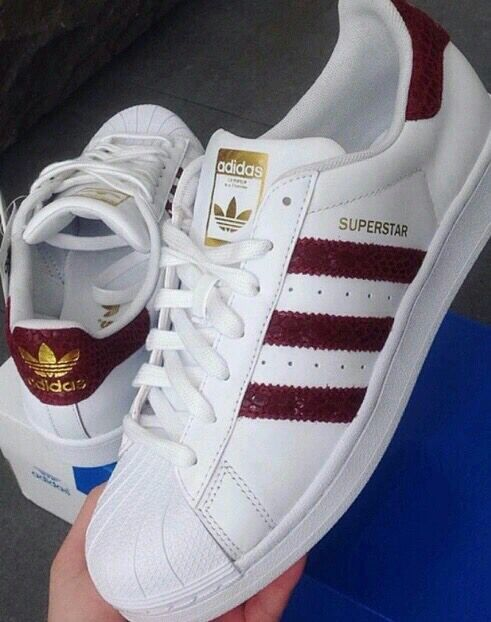 adidas superstar dames bordeaux