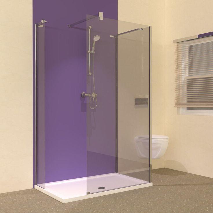 Image result for frameless walk in shower enclosures | Bathroom ...