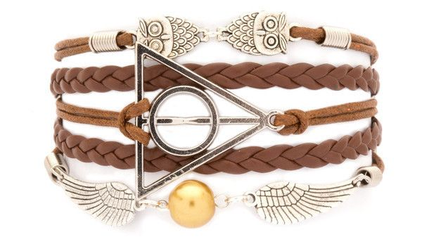 """Fortune"" Deathly Hallows bracelet"