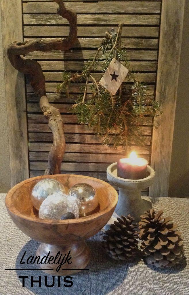 Landelijke Kerst Kerstdecoratie Kerst Decoraties