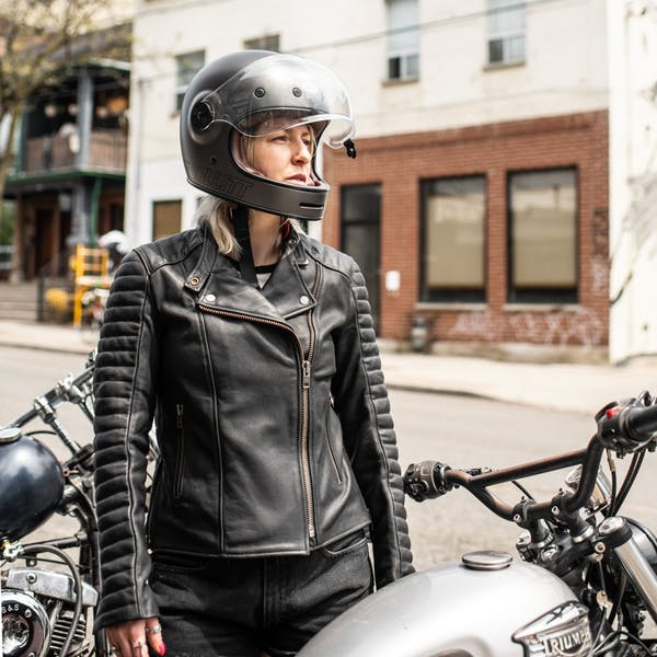 ATWYLD Womens Alltime 2.0 Moto Jacket Leather motorcycle