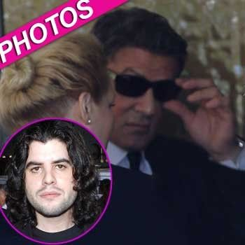 Devastated Sylvester Stallone Attends Son Sage's Funeral ...