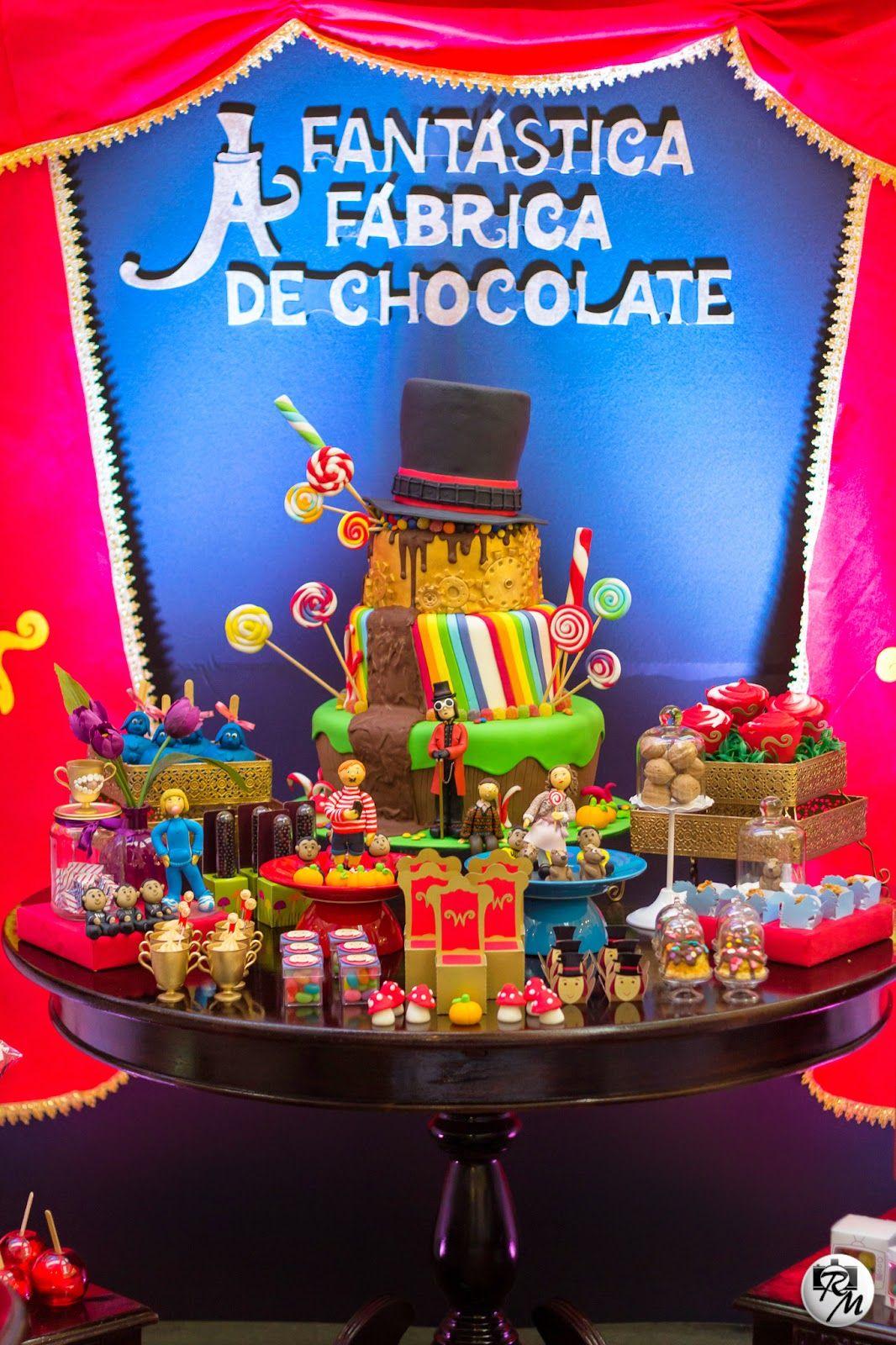 Decor Kids 2015 A Fantastica Fabrica De Chocolate Com Imagens