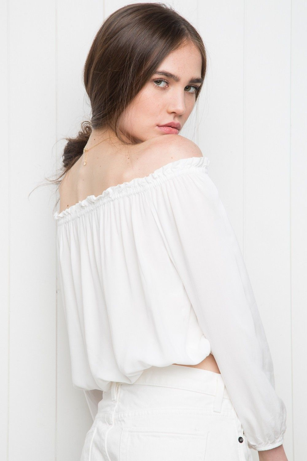 781a6460f8f Brandy ♥ Melville | Maura Top - Clothing | spring/summer '16 ...