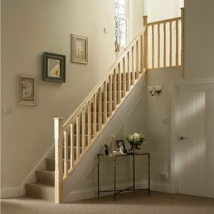 Best Chamfer Pine 32Mm Complete Banister Project Kit In 2019 640 x 480