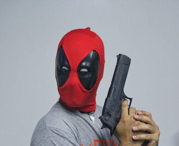 Deadpool mask crazy por IlustraStudios en Etsy | Badass | Pinterest