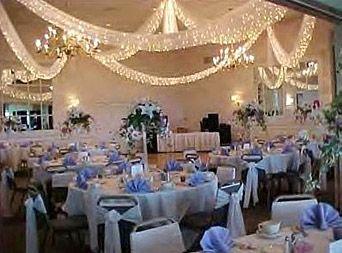 Salle de décoration de mariage