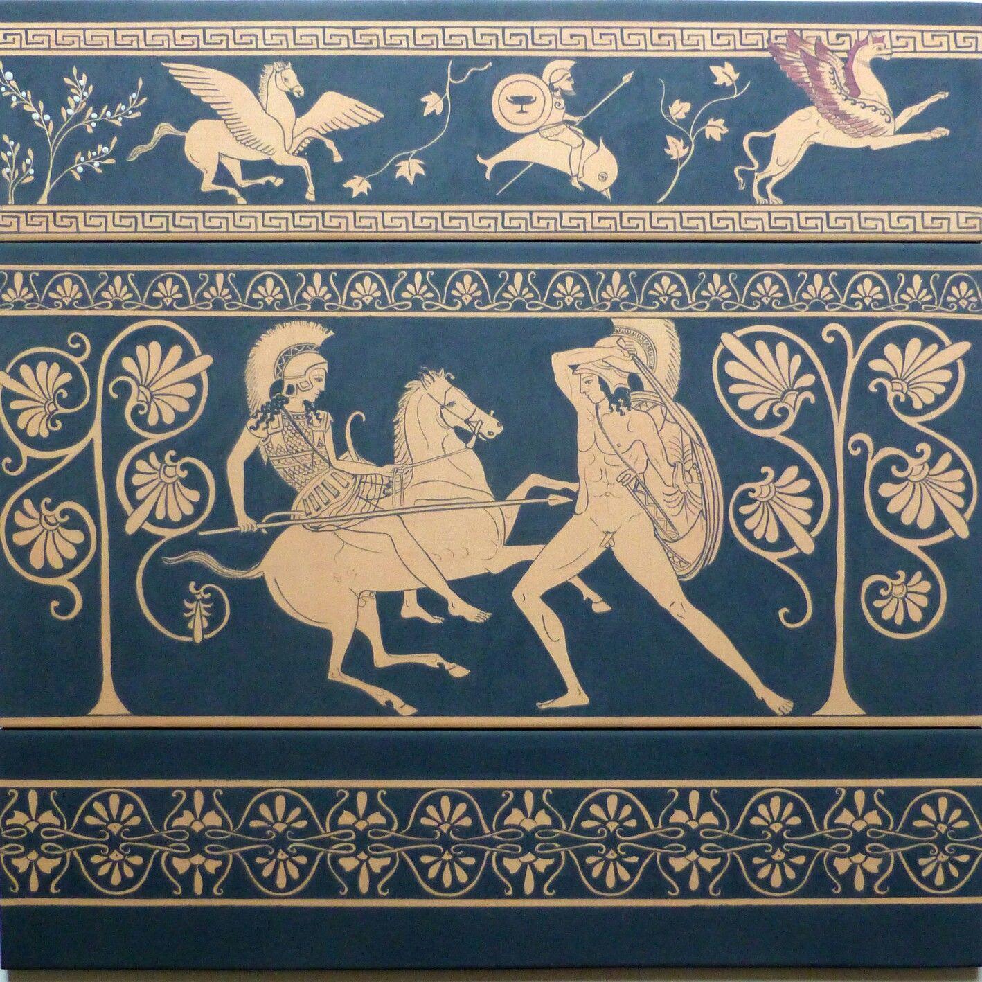 римские рисунки на вазах обувью служили
