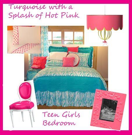 Aqua And Pink Bedroom Ideas Custom Design