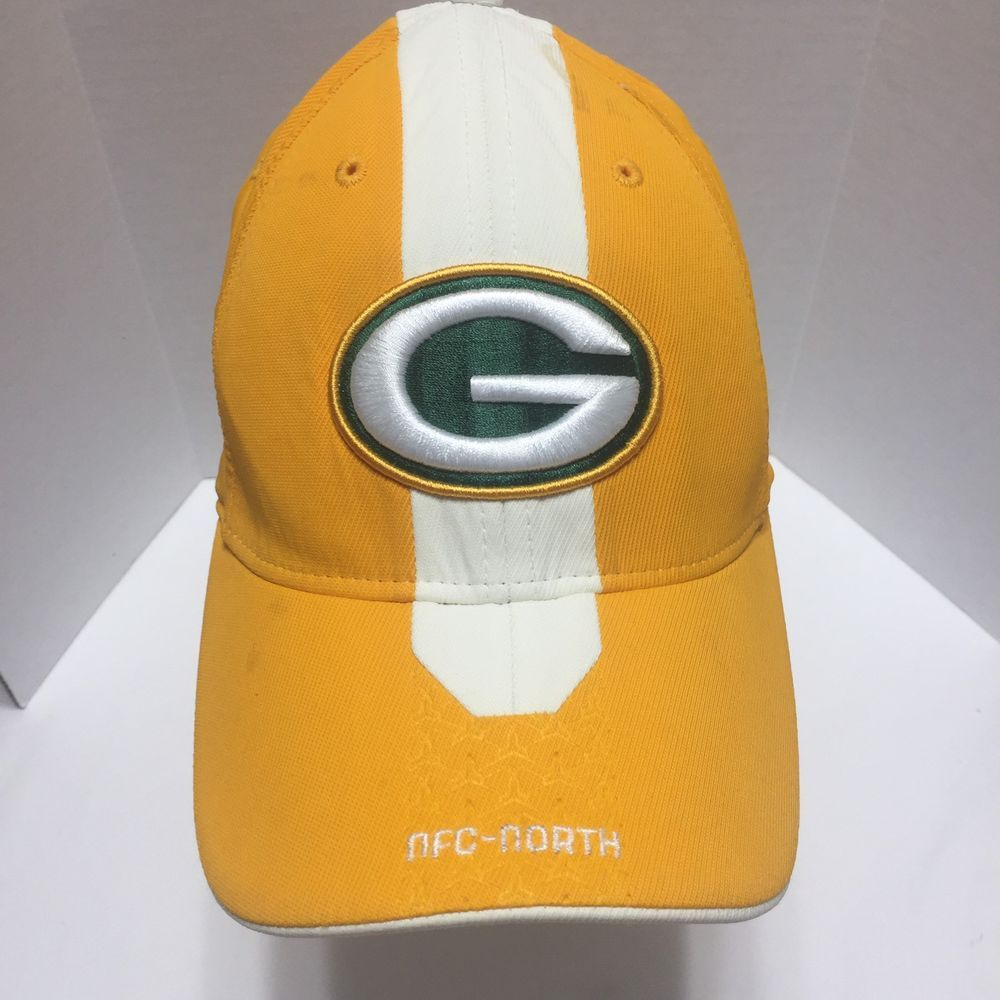 Green Bay Packers Nfc North Nfl Football Reebok Baseball Cap Hat Stretch Fit Reebok Baseballcap Nfc North Hats Nfl